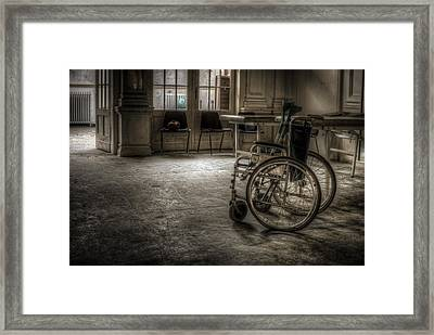 Just Walk Away Framed Print