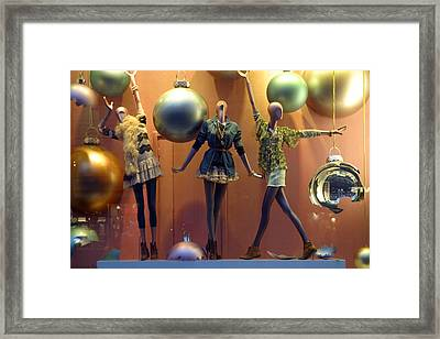 Just Want To Dance The Night Away Framed Print by Jez C Self