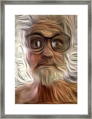 Just Woke Up Framed Print