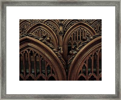 Justice By Consensus Framed Print