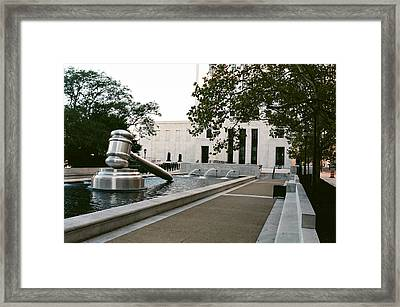 Justice II Framed Print by Jonathan Michael Bowman