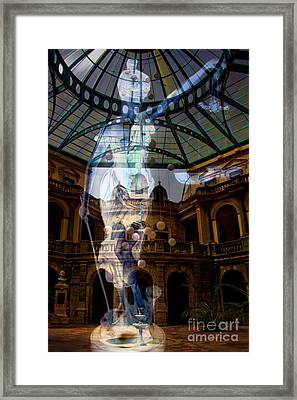 Justice Is Blind Framed Print by Al Bourassa