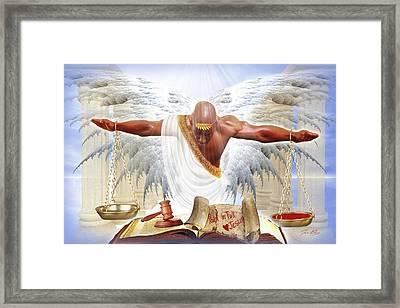 Justice Served Framed Print
