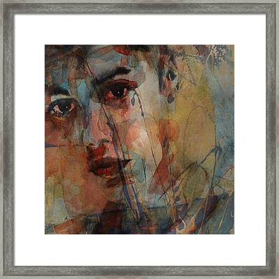Framed Print featuring the mixed media Justin Bieber by Paul Lovering