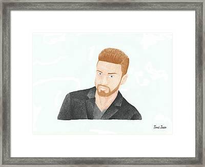Justin Timberlake Framed Print