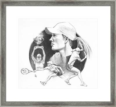 Justine Framed Print by Joe Winkler