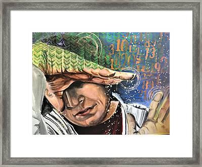 Justly Go Framed Print by Amoroqie Art