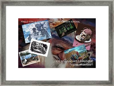 Juvenal Art Catalogue Framed Print