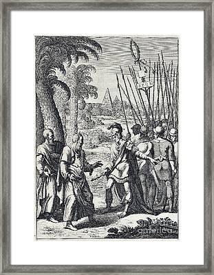 Juvenals Satires, Manners Of Men Framed Print