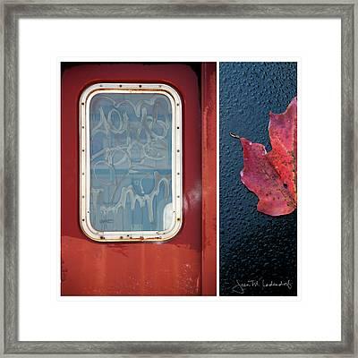 Juxtae #14 Framed Print