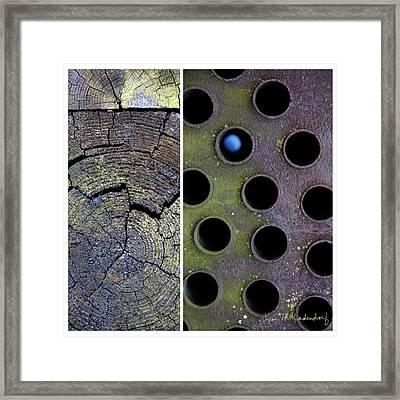 Juxtae #58 Framed Print
