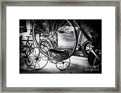 Juxtapose Framed Print by Arne Hansen