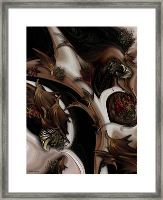 Juxtaposed Nature Framed Print
