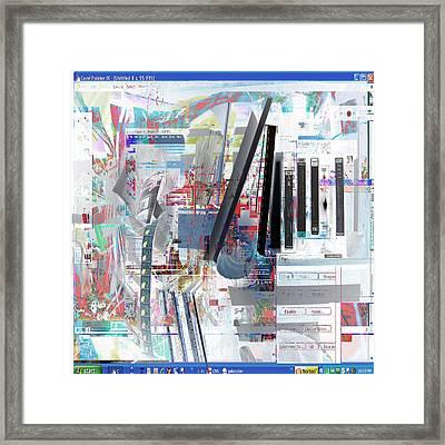 jvc Framed Print by Dave Kwinter