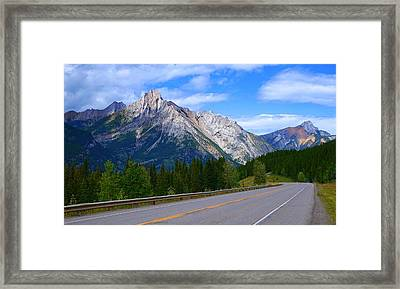 Kananaskis Country Framed Print