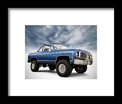 Chevy Truck Framed Prints