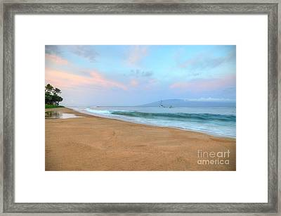 Framed Print featuring the photograph Ka'anapali Delight  by Kelly Wade