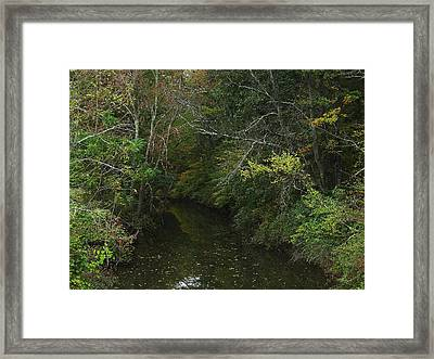 Kaaterskill Creek In Calm Framed Print