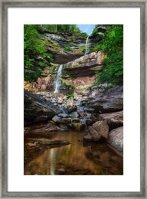 Kaaterskill Falls Framed Print by Mark Papke