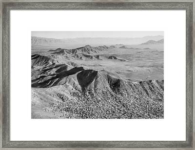 Kabul Mountainous Urban Sprawl Framed Print