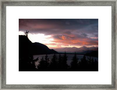 Kachess Lake Framed Print