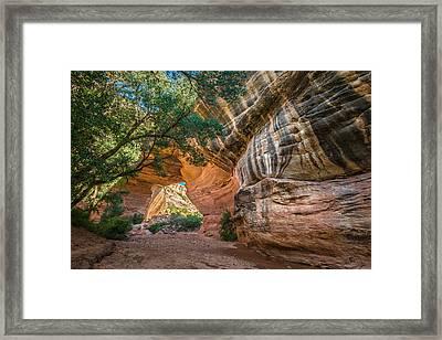 Kachina Bridge Framed Print by Joseph Smith