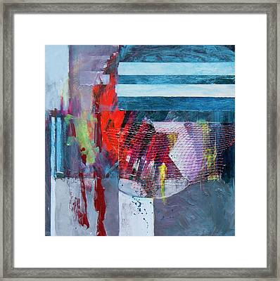Kaddish Flame Framed Print