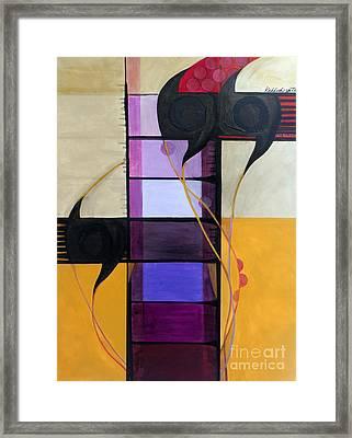 Kaddish Yatom...mourner Framed Print