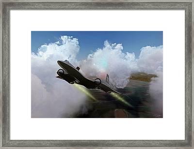 Kadena Cobra Framed Print by Peter Chilelli