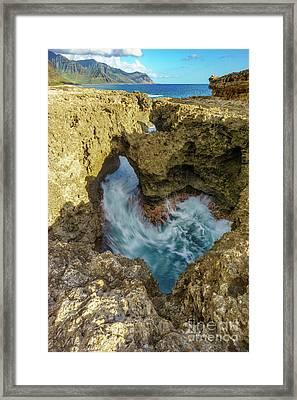 Kaena Point Trail Framed Print