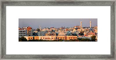 Kafar Quasem Framed Print