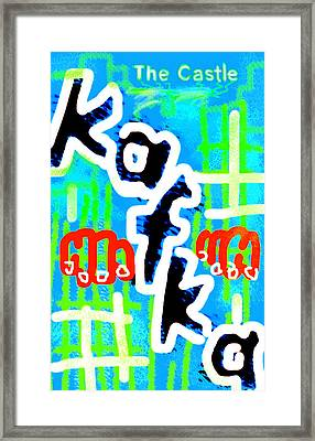 Kafka's The Castle Poster Framed Print by Paul Sutcliffe