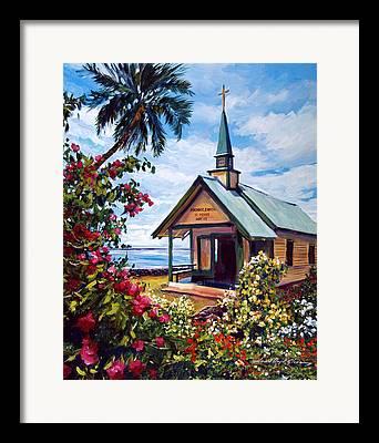 Hawaiin Framed Prints