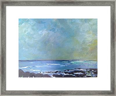Kahului Bay, Maui Framed Print