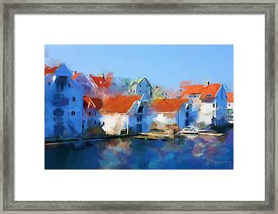 Kai Haugesund  Framed Print by Michael Greenaway