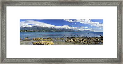 Kaikoura Panorama Framed Print