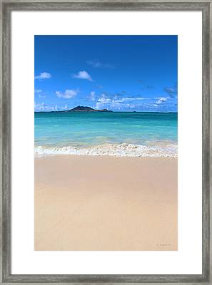 Kailua Beach Hawaii Framed Print