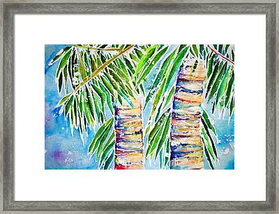 Kaimana Beach Framed Print by Julie Kerns Schaper - Printscapes