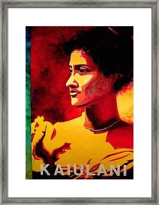 Kaiulani Framed Print