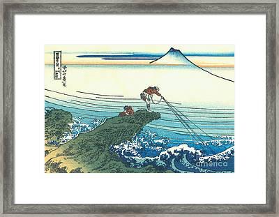 Kajikazawa In Kai Province Framed Print