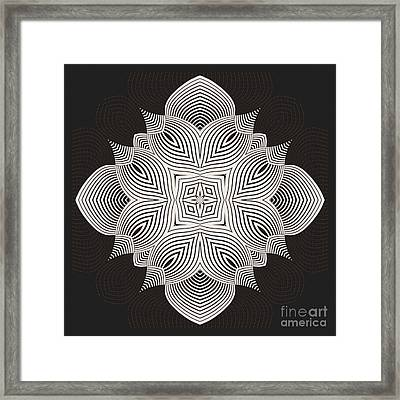 Kal - 71c89 Framed Print by Variance Collections