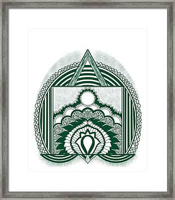 Kalakaari-ix Framed Print