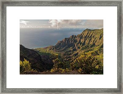 Kalalau Valley 3 Framed Print by Brian Harig