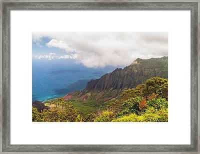 Kalalau Valley Framed Print by Brian Harig