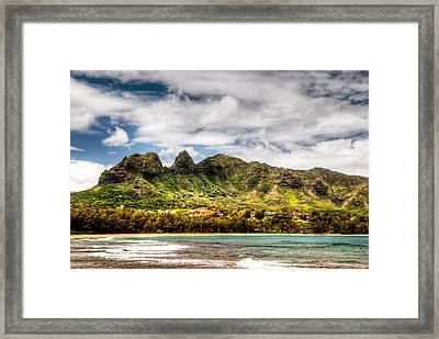 Kalalea Mountain Framed Print by Natasha Bishop
