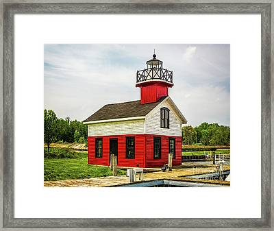 Kalamazoo Lighthouse Framed Print