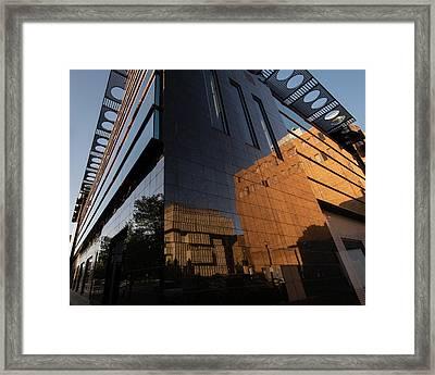 Kalamazoo Reflections Framed Print