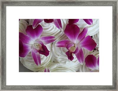 Kaleido Cakes Framed Print