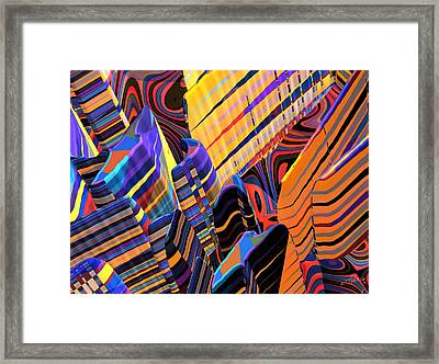 Kaleido-fa-callg. 10x11m3n10 Framed Print by Terry Anderson