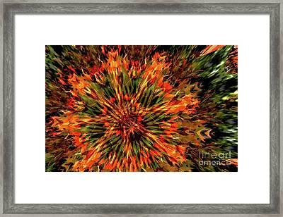Kaleidoscope 1 Framed Print by Jean Bernard Roussilhe